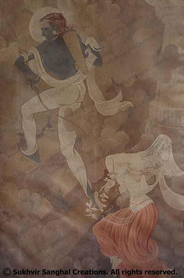 Arjun as kamjit