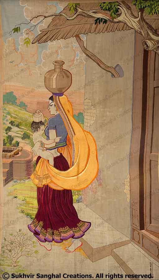 Tapestry by Prof. Sukhvir Sanghal